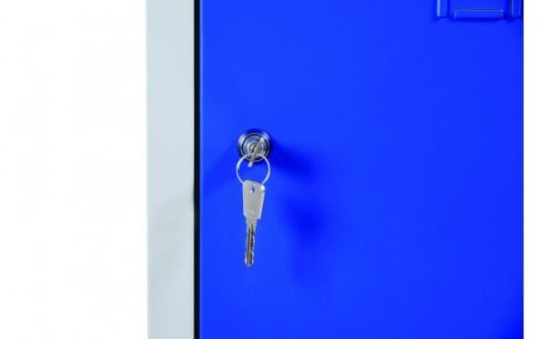 Zylinderschloss mit 2 Schlüsseln