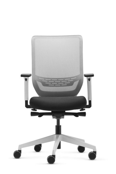 Bürodrehstuhl Sync 2 mesh Weiß