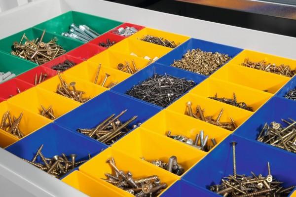 Schubladeneinteilung für Schrankbreite 1200 mm
