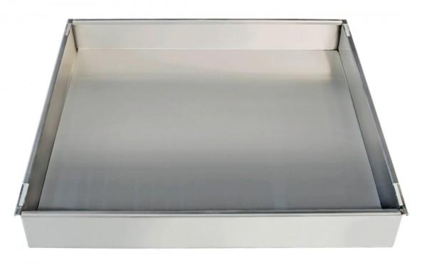 Wannenboden Umweltschrank Edelstahl B 450 mm